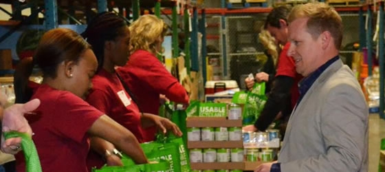 Compass Group Sponsors Holiday Food Drive | TRSA