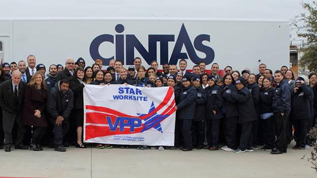 Cintas Gets VPP Star in Austin, TX | TRSA