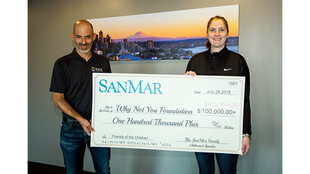 Sanmar Donates 126k To Children S Charity Trsa